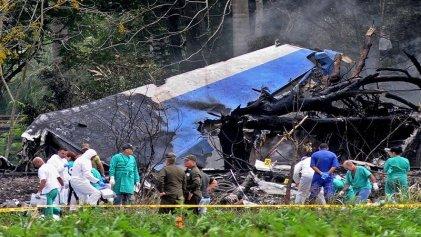 Duelo oficial por el accidente aéreo en La Habana