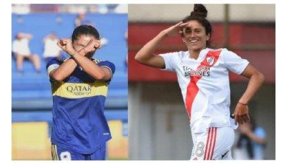 La final del fútbol femenino argentino es con superclásico