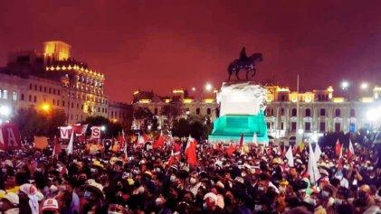"""Perú: """"Nuestra lucha va más allá del rechazo a Keiko, es por acabar con todo el legado fujimorista"""""""